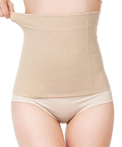 FUT Women Waist Trainer Shapewear for Weight Loss Tummy Control Body Shaper, Beige, XXX-Large