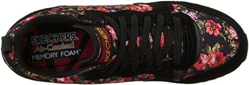 Skechers - Zapatillas deportivas modelo Petros OG 85 para mujer Black/Red
