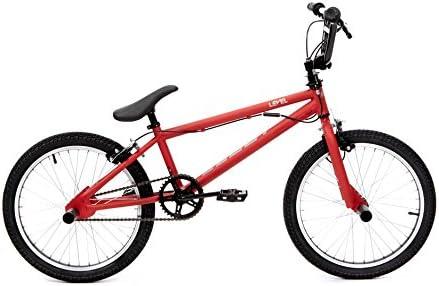 CLOOT Bicicletas BMX- Bici BMX Level Roja con Manillar rotativo y estribos: Amazon.es: Deportes y aire libre