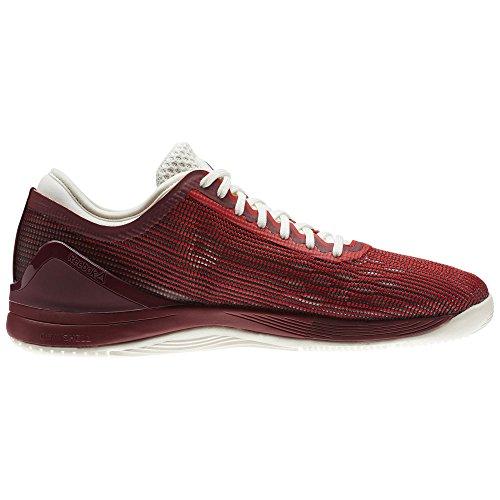 Reebok Crossfit Nano 8 Flexweave Shoe Mens Crossfit 5 Primal Red-Urban Maroon-Chalk-Black