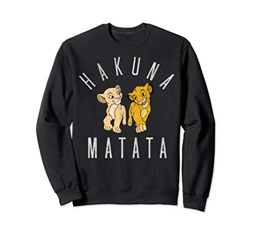 (Disney Lion King Simba Nala Hakuna Matata Graphic Fleece)