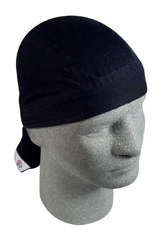 ROAD HOG, FLYDANNA;, 100% COTTON, SOLID BLACK, Manufacturer: ZANheadgear, Manufacturer Part Number: ZSG114-AD, Stock Photo - Actual parts may vary.