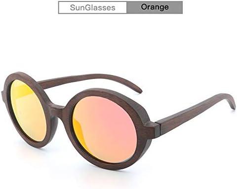 L.Z.HHZL Gafas de Sol Gafas de Sol polarizadas de bambú ...