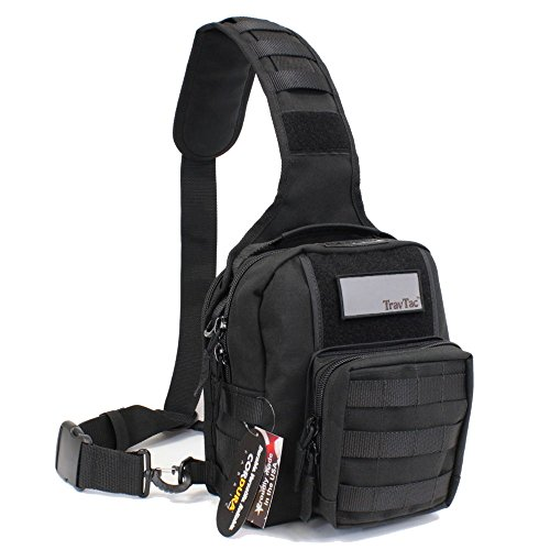 TravTac Onyx Sling Bag - USA Made Tactical Series by TravTac