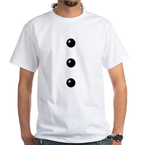 [CafePress - I'm A Snowman Costume White T-Shirt - 100% Cotton T-Shirt, White] (Snowman Costume Easy)