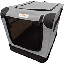 ASPCA Soft Crate, Large, Gray