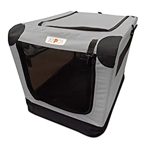 ASPCA Indoor/Outdoor Portable Soft Pet Crate 16