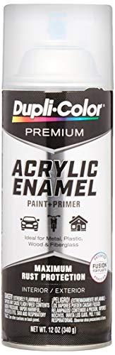 Dupli-Color EPAE11400 Premium Acrylic Enamel Spray Paint (PAE114 Gloss Clear 12 oz), 12. Fluid_Ounces
