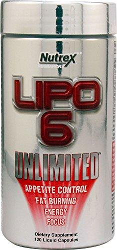 "Nutrex Research Lipo 6 Unlimitedâ""¢ -- 120 Liquid Capsules"