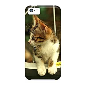 Iphone High Quality Tpu Case/ Beautiful Cat NcheNrP8042FTAvw Case Cover For Iphone 5c