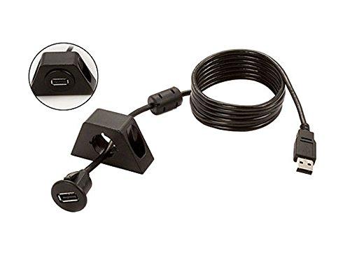 2 opinioni per USB built-in presa, comprese le staffe di costruzione Lunghezza cavo 1.8m