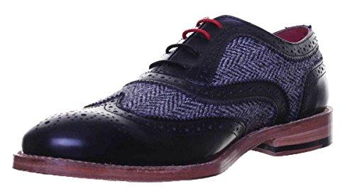 pour ville Noir lacets Reece Justin homme Chaussures Truman de à qxaTw01Iw