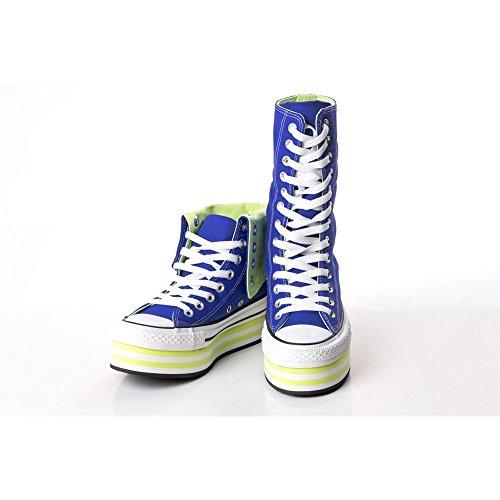 Piattaforma giallo Hi Conversare 136719c Dimensioni Colore Ct blu Bianco 41 5 qff0UE