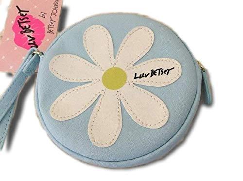 Luv Betsey Johnson Glimmer Summer Daisy Wristlet/Coin Purse