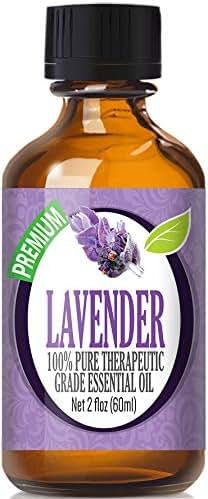 Lavender Essential Oil - 100% Pure Therapeutic Grade Lavender Oil - 60ml