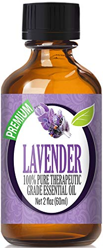 Lavender Essential Oil - 100% Pure Therapeutic Grade Lavender Oil - 60ml by Healing Solutions