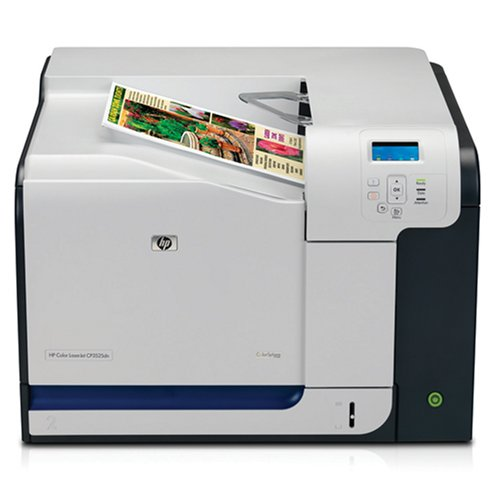 - HP CP3525DN Color Laserjet Printer