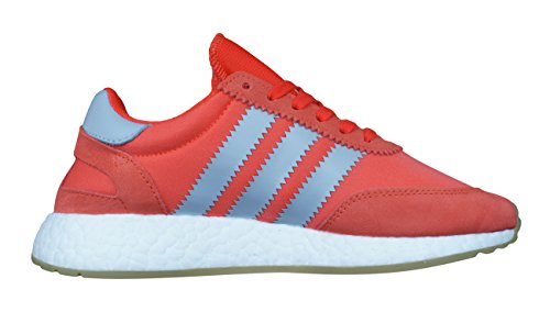 W amp;1 adidas 39 Donna Runner EU Iniki Rosso 3 Nylon Suede Sneakers CtW6tqxzw7
