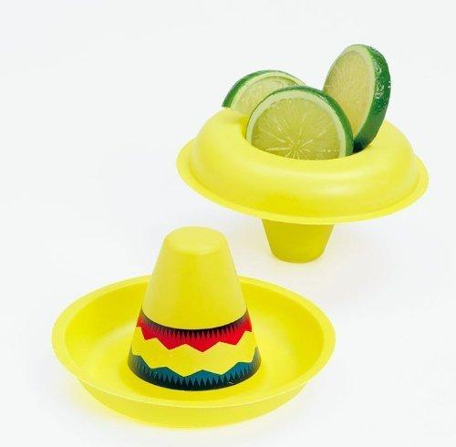 (Plastic Mini Sombreros (1 dz))