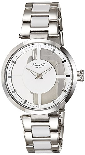Kenneth Cole New York Men's KC4827 Transparency Triple Silver Transparency Ladies Watch (Watch 56l)