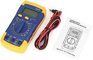 A830L Retroilluminazione Multimetro digitale LCD Voltmetro Amperometro Resistenza diodo CC AC OHM Volt Tester Test Dati attuali Tenere