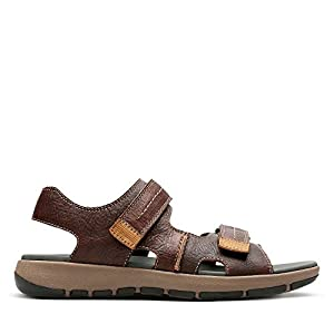 Clarks Men's Brixby Shore Ankle Strap Sandals