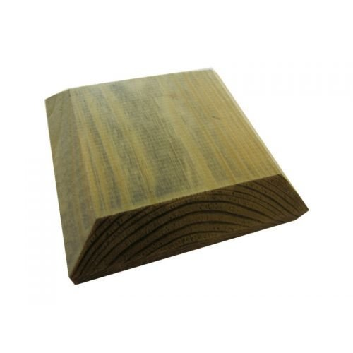 120mm Square Green Treated Wood Decking Fence Post Caps for 4 Inch posts eMarkooz Birkdale