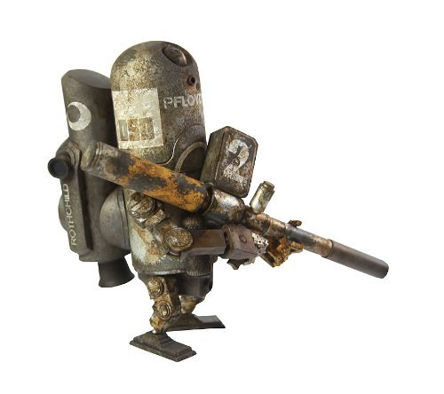 ARMSTRONG WWR World War Robot Floyd 0G Three A (16 cm PVC figure) [JAPAN] by threeA