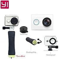 1080P 16MP Sports Camera w/ Wi-Fi, BT - White