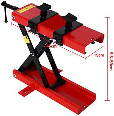capacidad m/áxima 500 kg. plataforma elevadora soporte de montaje y elevaci/ón moto SOULONG Puente elevador tijeras para coche