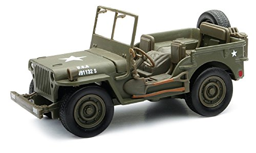(New Ray Classic Armour Willys Jeep - 1:32 Scale)