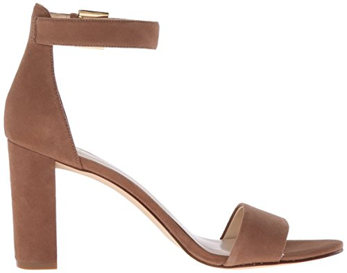 Nine West Womens Nolynn Suede Boot Natural Suede