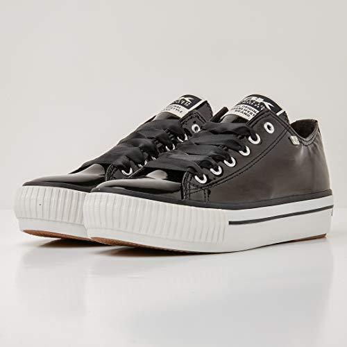 British Knights Master Nero Platform Donne Bassa Sneakers rrqUC0w