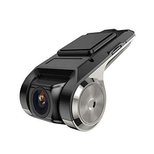 (Maoyou Vehicle X28 Dash Cam 1080P FHD Car DVR Camera Video Recorder WiFi ADAS G-Sensor Monitor Kit Necesssary Parts Included Black)