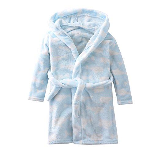 Toddlers Bathrobe Childrens Pajamas Sleepwear