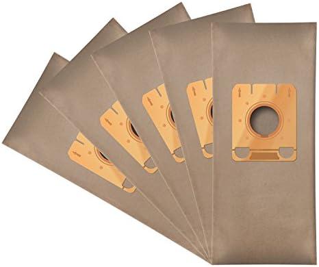 WESSPER® Bolsas de aspiradora para Miele S204 (5 piezas, papel ...