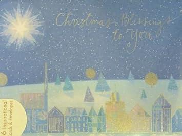 Dayspring Christmas Cards.Amazon Com Dayspring Christmas Blessings Christian