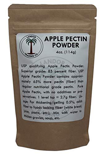 - Apple Pectin 4 Ounces (USP Qualified) (114 Grams)