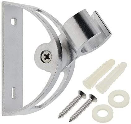Adjustable Shower Head Holder in CHROME with set of Screw