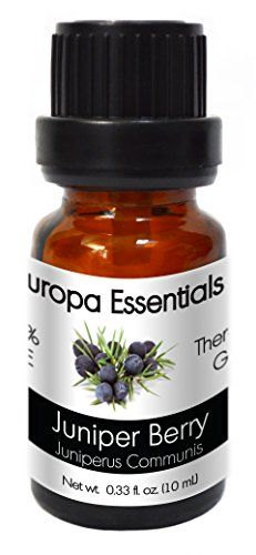 Europa Essentials 100% Pure Therapeutic Grade Essential Oils, 36 Aromatherapy Scents Collection – Juniper Berry, 10ml