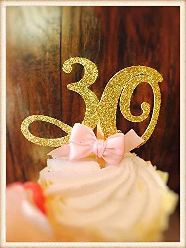 Decoraciones para cupcakes de 30 cumpleaños, 30 cumpleaños ...
