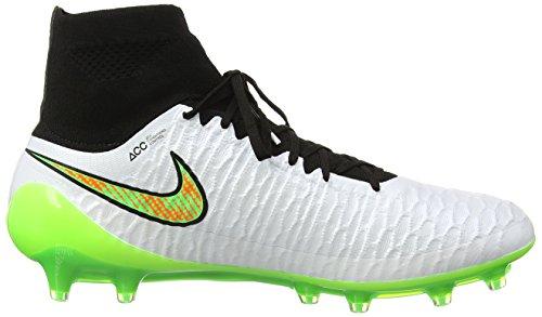 Magista Orng Nike Ground Green White Firm Weiß Fußballschuhe Herren Blk Ttl Psn Obra T7Bdwq
