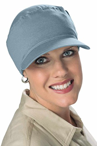 Denim Headgear Cap (Headcovers Unlimited Softie Cancer Cap for Women in Chemotherapy Denim Chambrey)