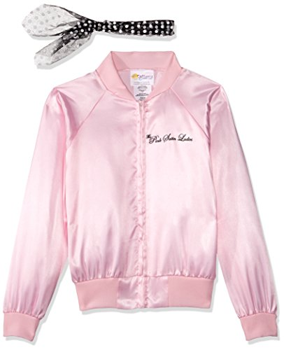 Pink Ladies Kids Costumes (California Costumes The Pink Satin Ladies Child Costume, X-Small)