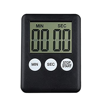 Temporizador digital de Cocina con cuenta atrás,Timer Digital Reminder Alarm LCD Reloj de cocina