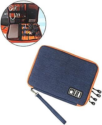 Accesorios para dispositivos electrónicos pequeños Organizador Cable para auriculares Unidades flash USB Estuche para bolsa de almacenamiento digital: Amazon.es: Amazon.es