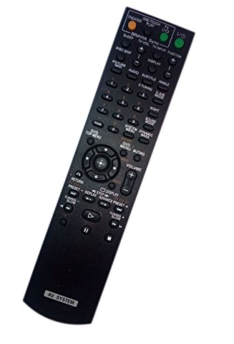 Replaced Remote Control for Sony DAV-HDX585 HCDHDX587WC DAVHDX279 RM-ADU007A HCD-HDX576WF Home Theater Audio/Video Receiver AV System by JustFine
