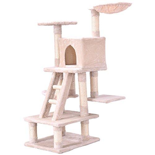 Large Cat Activity Tree Beige 46