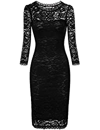 Black n white dresses amazon