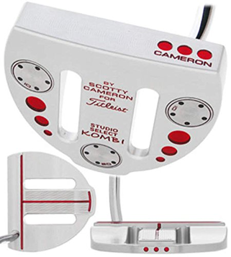 (Titleist Scotty Cameron Studio Select Kombi Belly Putter Steel Right Handed 43.0in)